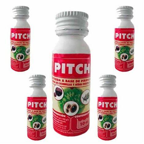 Insecticida Pitch 50cc. Uso contra cochinilla y mosca blanca.
