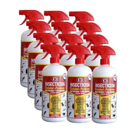 Insecticida Premium IMPEX EUROPA 1L contra insectos voladores y rastreros - Caja Completa 12 x 1000 ml