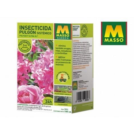 Insecticida Pulgon Sistemico 100ML Masso