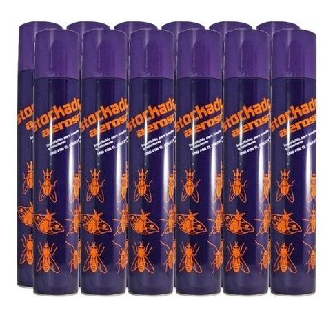Insecticida STOCKADE contra Insectos Voladores y Rastreros - Caja Completa 12 x 750 ml