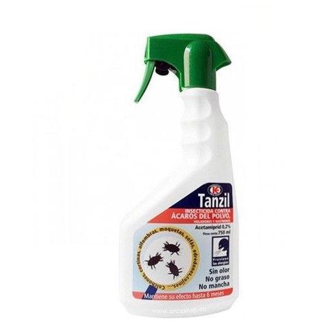 Insecticida TANZIL 750ml contra ácaros del polvo, voladores y rastreros