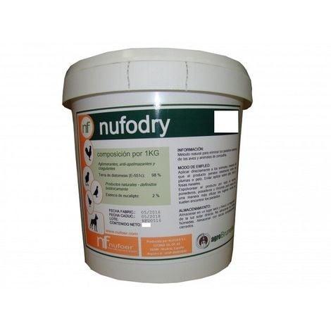 Insecticida Tierra de Diatomeas Nufodry 3 Kg
