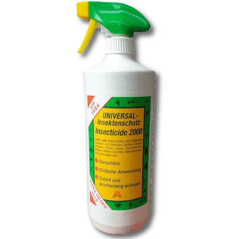 Insecticide 2000 1l Protection contre les insectes Protection contre les mouches Protection contre les taons Protection contre les tiques