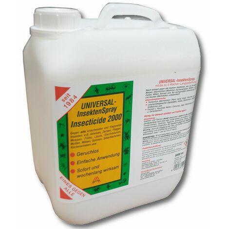 Insecticide 2000 5l Insektenschutz Fliegenschutz Bremsenschutz Zeckenschutz