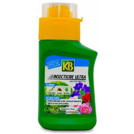 Insecticide choc pour plantes d'ornement, à diluer. 250 ml