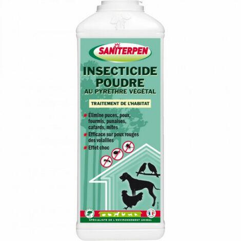 Insecticide puce, poux, fourmi, tique et punaise Saniterpen