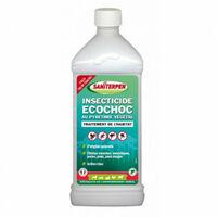 Insecticide puissant naturel concentré Ecochoc 1L Saniterpen