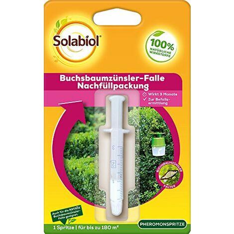 Insecticide Solabiol - Recharge pour piège - Pour extérieur - Incolore, 1,5 x 11,3 x 18 cm