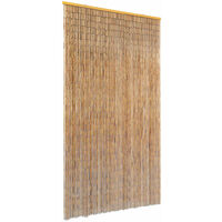 Insektenschutz Türvorhang Bambus 100 x 220 cm