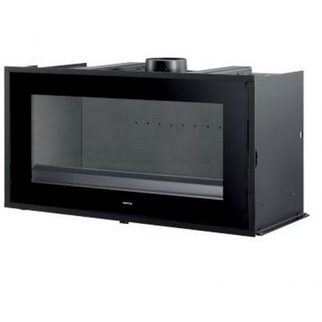 insert à bois 10kw noir - neo100 - supra