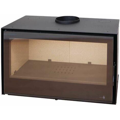 Insert à bois Modèle C-290 - Collection VISION - Anthracite/noir