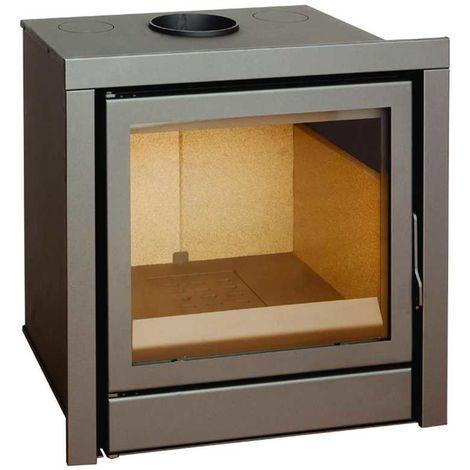 Insert à bois Modèle C110 - Collection CLASSIC - Anthracite/noir