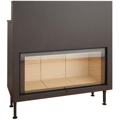 Insert à bois Modèle C1250ES - Collection VISION XXL - Noir