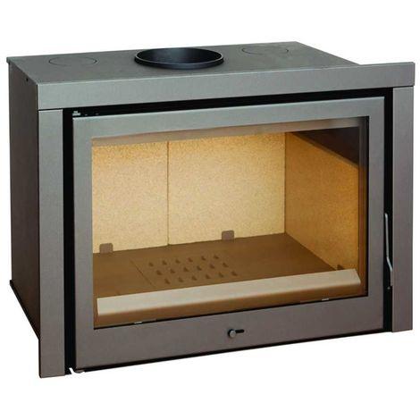 Insert à bois Modèle C130 - Collection CLASSIC - Anthracite/noir