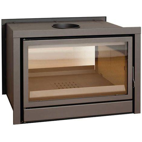 Insert à bois Modèle C180DF - Collection CLASSIC - Anthracite/noir