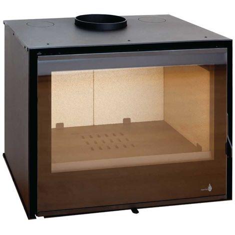 Insert à bois Modèle C270 - Collection VISION - Anthracite/noir