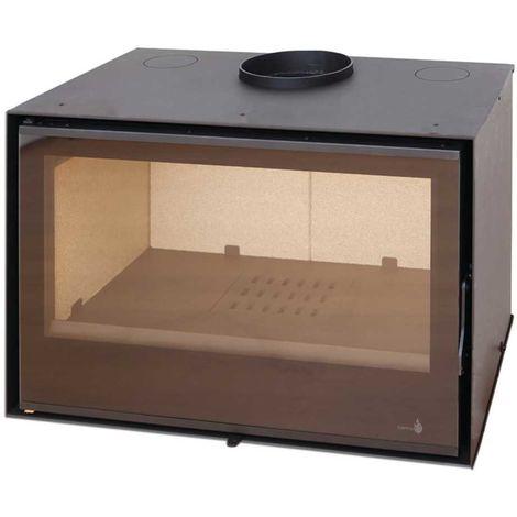 Insert à bois Modèle C280 - Collection VISION - Anthracite/noir