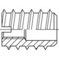 Insert à écrou N/A TOOLCRAFT 144019 M3 12 mm acier 100 pc(s)