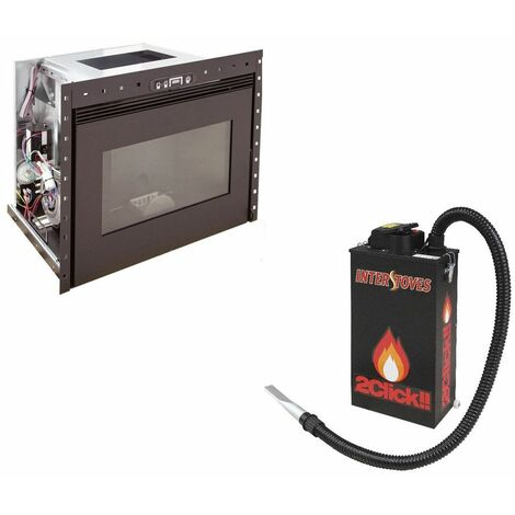 Insert à granules BENITO 10KW - Noir option aspirateur à cendres ASPI SLIM 2CLICK 18 litres 1000W