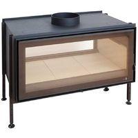 Insert bois double face 9-13kw+kit de ventilation+cadre Quadro C1000DF