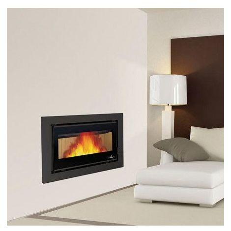 Insert cheminée à bois avec turbine Placetas 14 kW