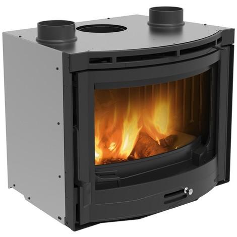 Insert cheminée à bois La NORDICA 12,3KW Inserto Tondo - Ventilato
