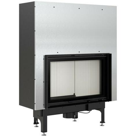 Insert cheminées à bois NADINE porte guillotine 16 kW