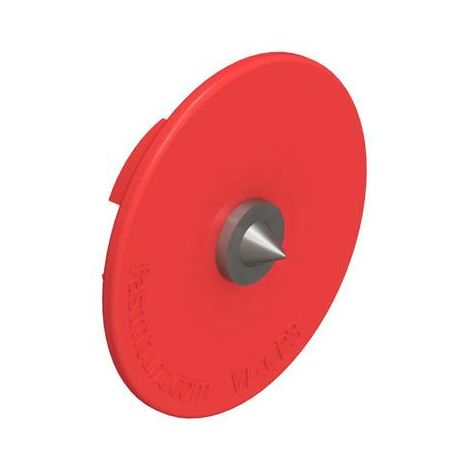Insert de centrage vl-cp3 - Matériau : Acier - Décor : Rouge - Diamètre : 28 mm - FASTMOUNT