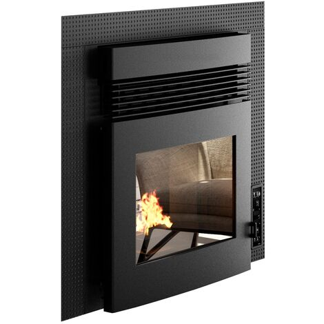 Insert de cheminée à granulés canalisable Punto Fuoco Alessio CNLZ 11 kW