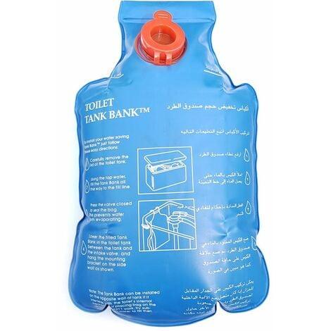 insert de réservoir de chasse dispositif d'économie d'eau WC bancaire du réservoir