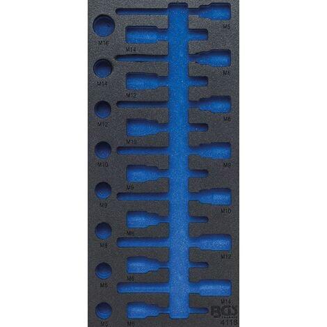 INSERT DE SERVANTE D'ATELIER 1/3   VIDE  POUR ART. 4118 BGS 4118-1