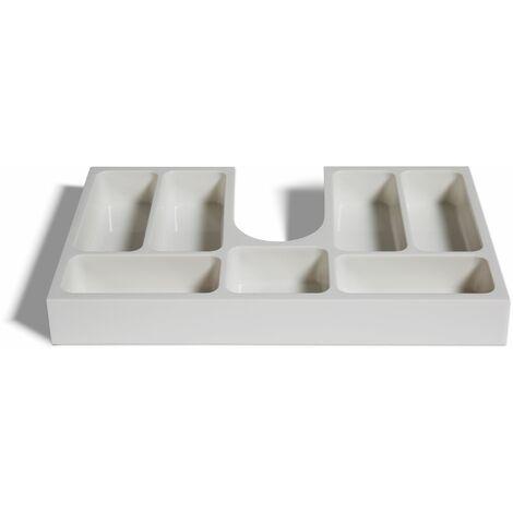 Insert de tiroir pour meubles de salle de bain dès 70cm de largeur