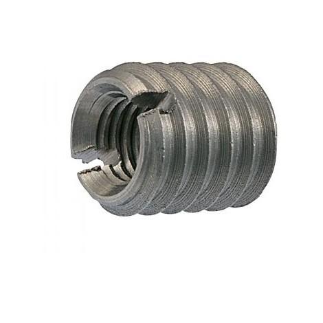 INSERT FENDUE FILETE BOIS M5 10X12 INOX A1 (Unitaire)