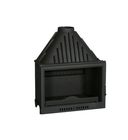 Insert foyer de cheminée face plate 17.5 Kw