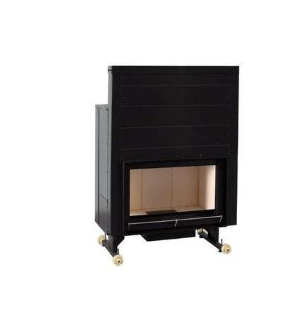 Insert foyer en acier carbone et briques réfractaires 14 Kw