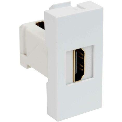 Insert pour appareil électrique KOPOS QD 45X22.5-HDMI_HB module de données (l x h) 22.5 mm x 45 mm blanc 1 pc(s)