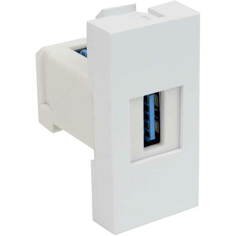 Insert pour appareil électrique KOPOS QD 45X22.5-USB_HB module de données (l x h) 22.5 mm x 45 mm blanc 1 pc(s)