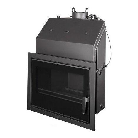 Insertable Hydro 24 Kw Con Cristal Serigr. Negro Y Cajon Por Fuera Modelo Hydrobronpi-70-E-V