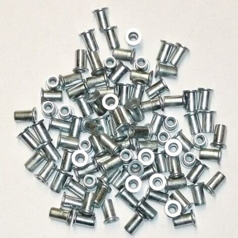 INSERTS FILETES DE 3 mm TETE PLATE