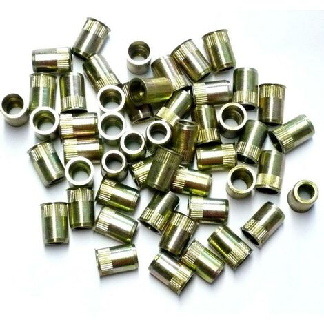 INSERTS FILETES DE 8 mm TETE FRAISEE