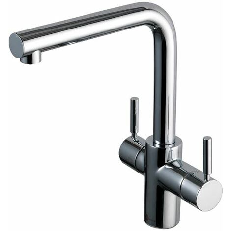 InSinkErator 3 in 1 Boiling Hot Cold Water Chrome Tap + Neo Tank
