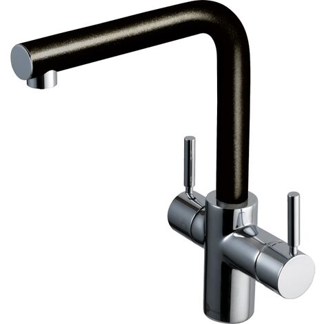 InSinkErator 3 in 1 Boiling Hot & Cold Water Tap Anthracite