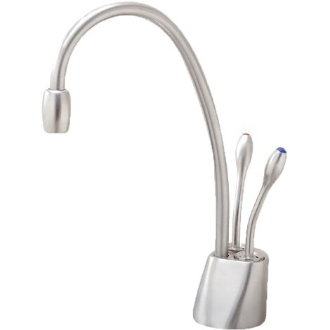 """main image of """"InSinkErator Boiling Hot Filtered Cold Water Kitchen Tap Brushed"""""""