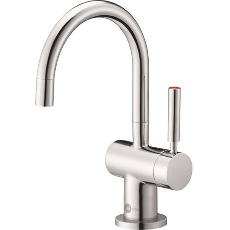 InSinkErator Boiling Hot Water Kitchen Tap Chrome Single Lever