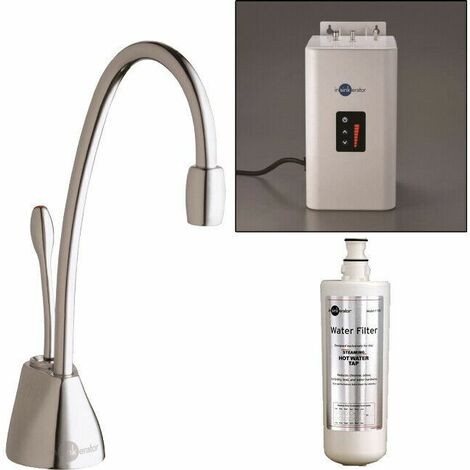 """main image of """"InSinkErator GN1100 Boiling Hot Water Kitchen Tap Chrome Neo Tank"""""""