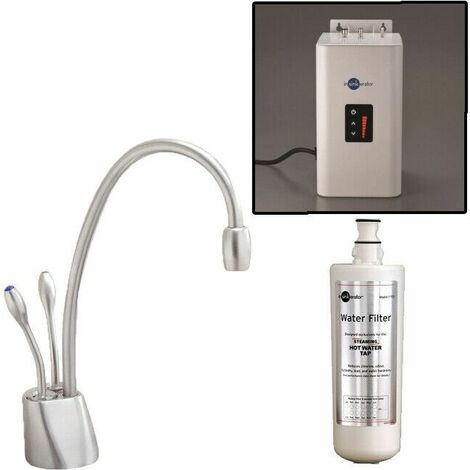 """main image of """"InSinkErator HC1100 Kitchen Tap Boiling Hot Cold Water + Neo Tank"""""""