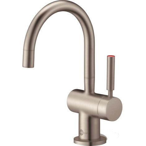 InSinkErator Kitchen Boiling Hot Water Brushed Finish Tap Only