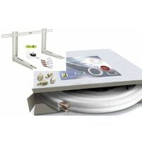 INSTALLATION KIT CONDITIONER CUIVRE TUYAUX 1/4 3/8 10 MT TUBE SUPPORT de MONTAGE CONDENSATS