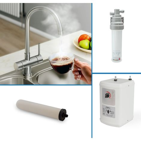 Instant Boiling Water Kitchen Tap (Includes Tap, Filter + Boiler)