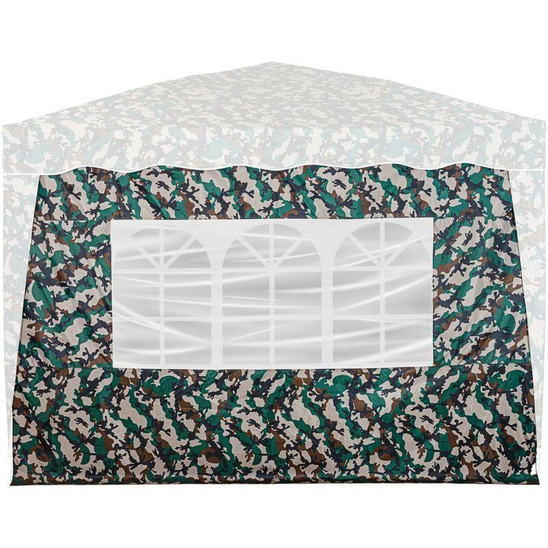 INSTENT® Panneau latéral avec 3 fenêtres, couleur camouflage